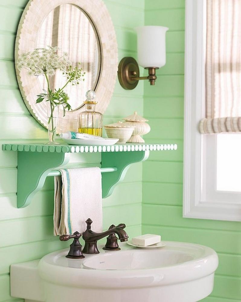 Ванная комната вагонкой пластиковой дизайн 61
