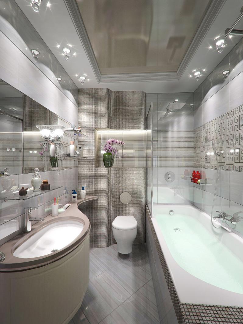 Дизайн натяжные потолки в ванной фото дизайн