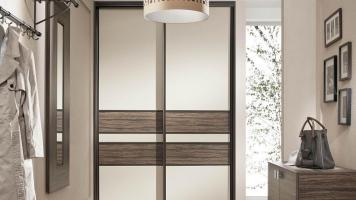 Шкаф-купе в прихожую: фото лучших идеи реализации встроенных и угловых шкафов