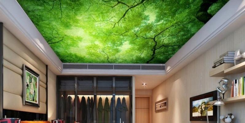 Натяжные потолки в ванной комнате|ArtHouse | 400x798