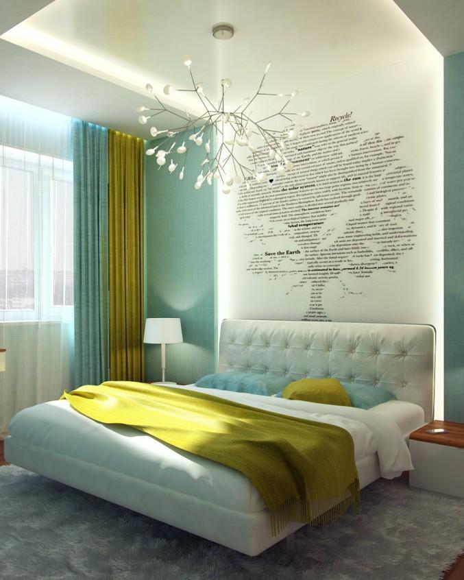 aqua and chartreuse bedroom  aqua bedrooms bedroom