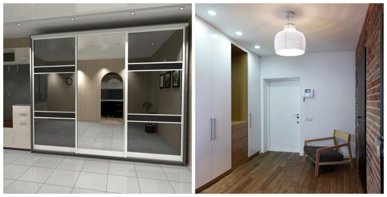 Шкаф купе в прихожую — встроенные модели, современный дизайн и особенности использования встроенных шкафов (120 фото и видео)