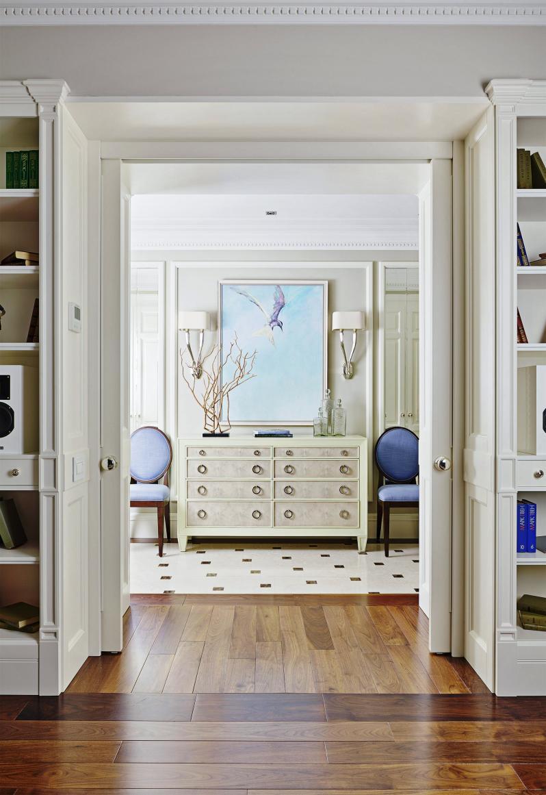 Фото ламинат в сочетании с плиткой в коридоре фото